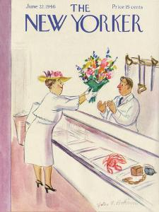 The New Yorker Cover - June 22, 1946 by Helen E. Hokinson