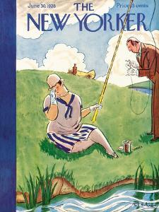The New Yorker Cover - June 30, 1928 by Helen E. Hokinson