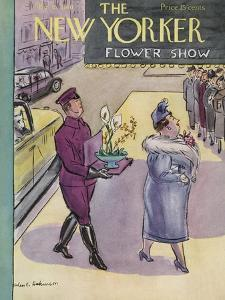 The New Yorker Cover - March 16, 1940 by Helen E. Hokinson