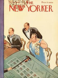 The New Yorker Cover - March 21, 1931 by Helen E. Hokinson