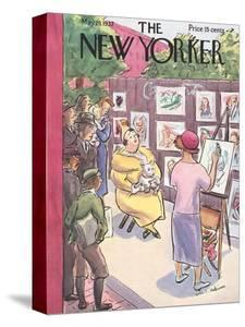 The New Yorker Cover - May 29, 1937 by Helen E. Hokinson