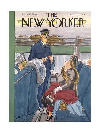 The New Yorker Cover - November 12, 1949