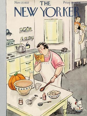 The New Yorker Cover - November 27, 1937