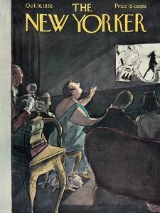The New Yorker Cover - October 10, 1936 by Helen E. Hokinson