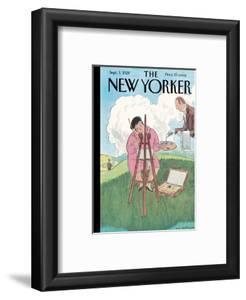 The New Yorker Cover - September 1, 1928 by Helen E. Hokinson