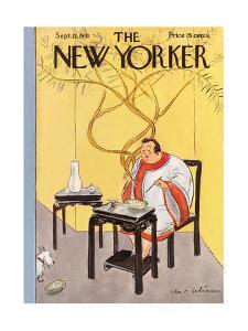The New Yorker Cover - September 12, 1931 by Helen E. Hokinson