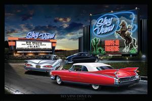 Skyview Drive In by Helen Flint