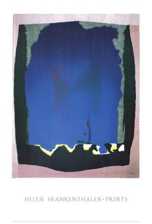 Freefall by Helen Frankenthaler
