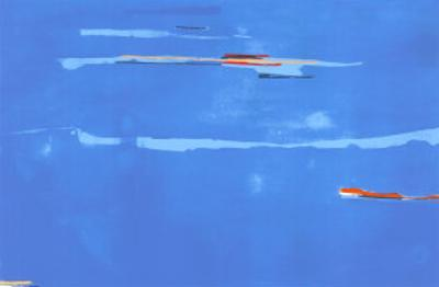 Ocean Drive West No. 1, c.1974 by Helen Frankenthaler