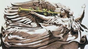 Angel in Chicago by Helen J^ Vaughn