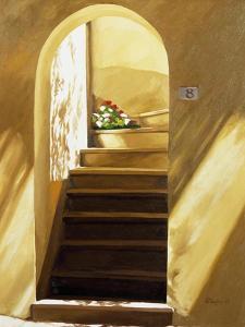 Arched Doorway by Helen J^ Vaughn