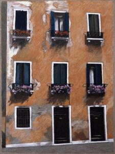 Doors and Windows in Venice by Helen J^ Vaughn