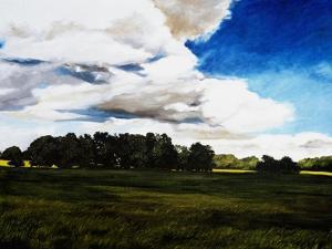 Late Summer Landscape in N. Alabama by Helen J^ Vaughn