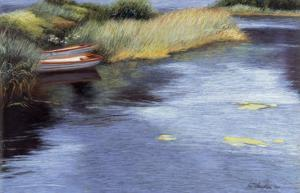 Rowboats in Scotland by Helen J^ Vaughn