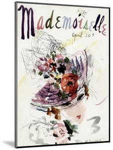 Mademoiselle Cover - April 1936 by Helen Jameson Hall