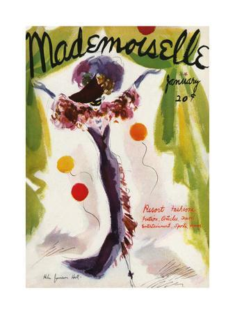 Mademoiselle Cover - January 1936