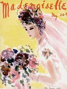 Mademoiselle Cover - May 1936 by Helen Jameson Hall