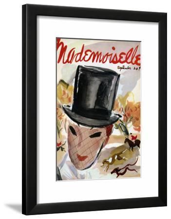 Mademoiselle Cover - September 1935