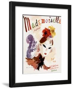 Mademoiselle Cover - September 1936 by Helen Jameson Hall