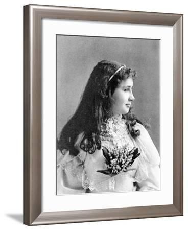 Helen Keller, 1893--Framed Photographic Print