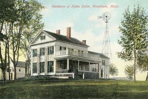 Helen Keller Residence, M Wrentham