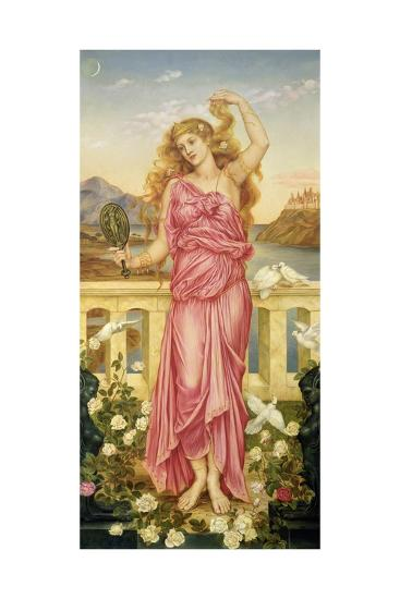 Helen of Troy, 1898-Evelyn De Morgan-Giclee Print