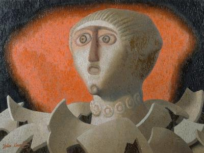 Helen of Troy, 1957-John Armstrong-Giclee Print