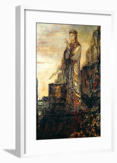 Helen on the Ramparts of Troy-Gustave Moreau-Framed Giclee Print