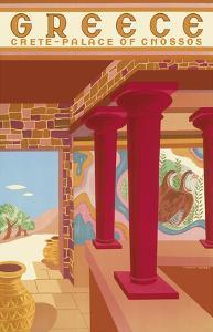 Greece - Crete - Palace of Cnossos (Knossos) by Helen Perakis-Theocharis