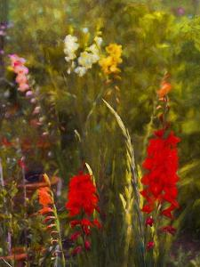 Beside the Potting Shed painting by Helen White