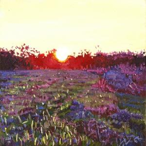 Farley sunset, 2012, by Helen White