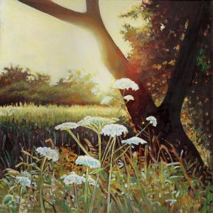 Golden hedgerow I, 2014, by Helen White