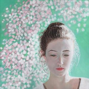 Portrait of a Girl Blossoming, 2015 by Helen White