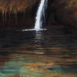 Waterfall III, 2016, by Helen White