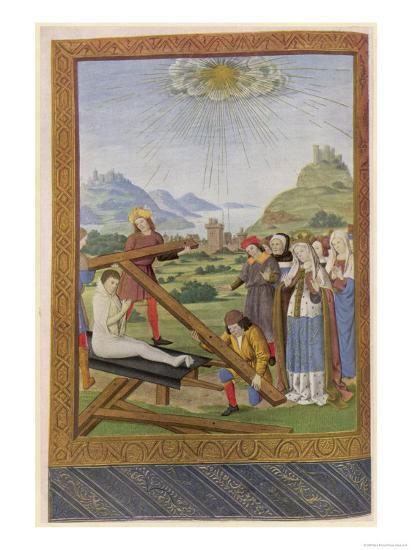 Helena Empress and Saint Discovers the Remains of the Cross on Which Jesus was Crucified--Giclee Print