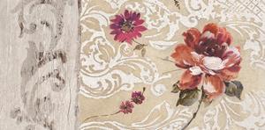 Fleurs Neoclassique I by Hélene Simon
