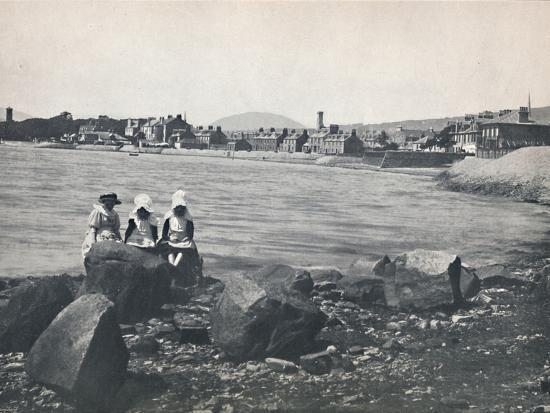 'Helensburgh - East Bay', 1895-Unknown-Photographic Print