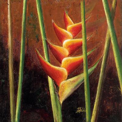 Heliconias En Naranja II-Patricia Pinto-Premium Giclee Print