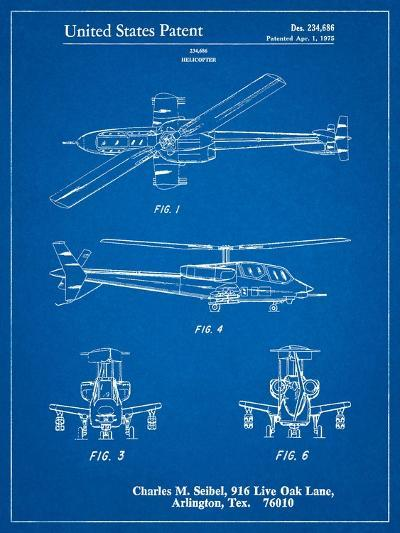 Helicopter Patent Print-Cole Borders-Art Print