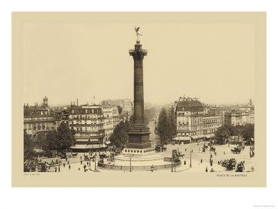 Bastille Place, July Column
