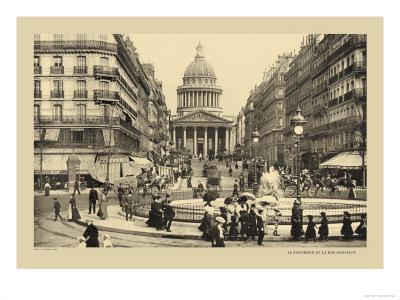 Pantheon and Soufflot Street