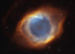 Helix Nebula - a Gaseous Envelope Expelled By a Dying Star
