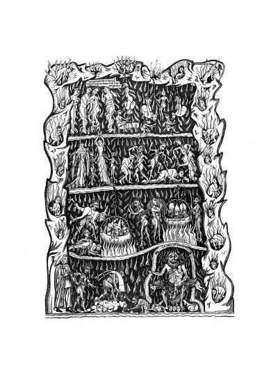 Hell, 12th Century--Giclee Print