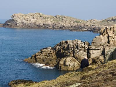 Hell Bay on a Calm Day, Bryer, Isles of Scilly, Off Cornwall, United Kingdom, Europe-Robert Harding-Photographic Print
