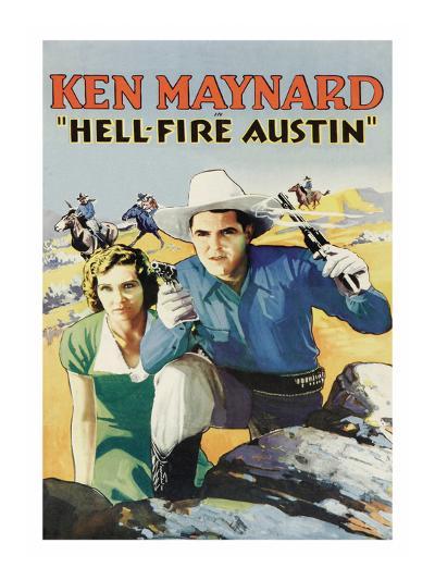 Hell-Fire in Austin--Art Print