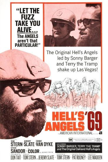 Hell's Angels '69, Sonny Barger, 1969--Art Print