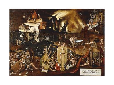 Hell-Hieronymus Bosch-Giclee Print