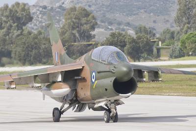 Hellenic Air Force Ta-7 Corsair Ii at Araxos Air Base, Greece-Stocktrek Images-Photographic Print