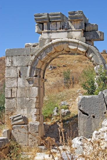 Hellenistic Gate, Xanthos, Turkey--Photographic Print