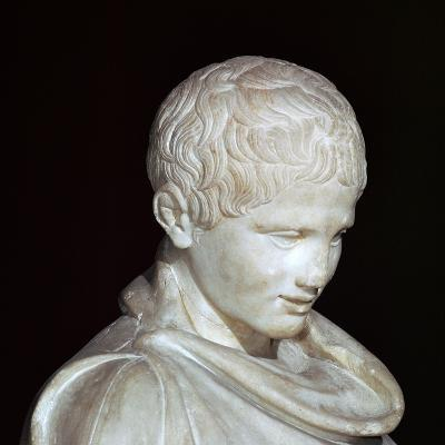 Hellenistic Marble Statue of a Young Athlete from Aydin, 1st Century Bc-CM Dixon-Photographic Print